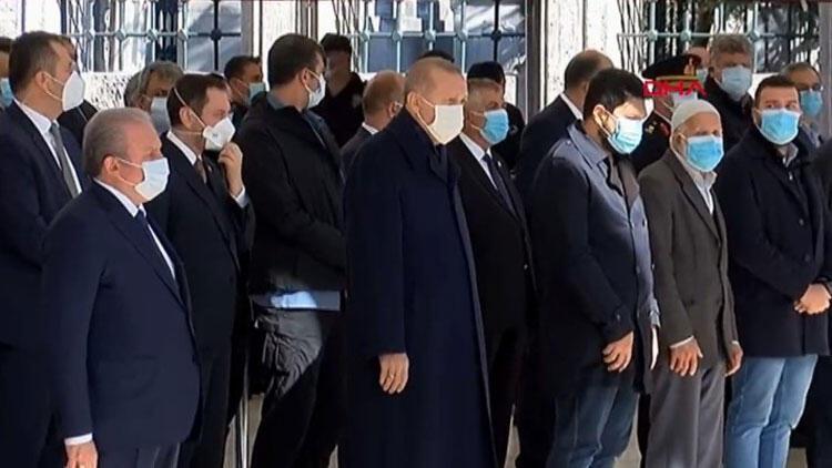 Son dakika... Burhan Kuzu'ya veda... Cumhurbaşkanı Erdoğan: Çok kısa sürede kaybettik