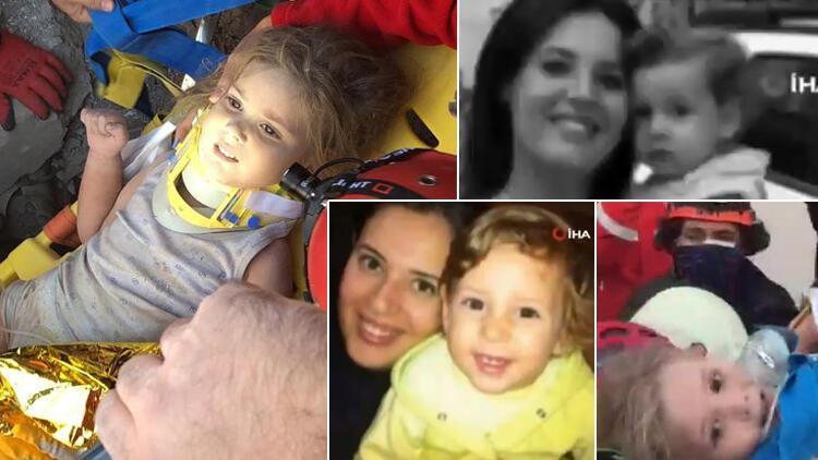 Son dakika... İzmir'deki depremde 91'inci saatte Ayla mucizesi! 'Enkaz altından çıkmamış kadar güzeldi'