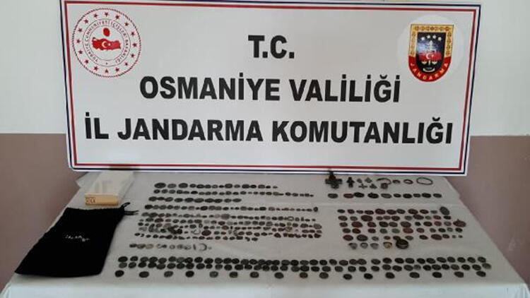 Osmaniye'de tarihi eser kaçakçılığına 3 gözaltı