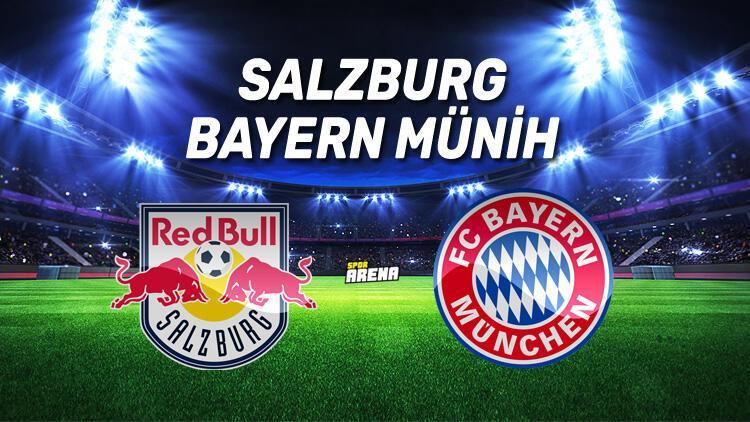 Salzburg Bayern Münih maçı saat kaçta, hangi kanalda?