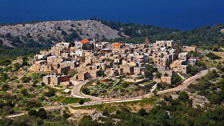 Sakız Adası'nın iki güzeli: Olimpi ve Avgonima