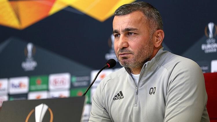 Karabağ Teknik Direktörü Gurban Gurbanov: 'Öz vatanımızdayız'