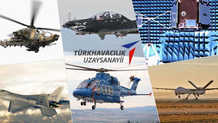 TUSAŞ, dünya havacılık ekosistemine üretim gerçekleştiriyor
