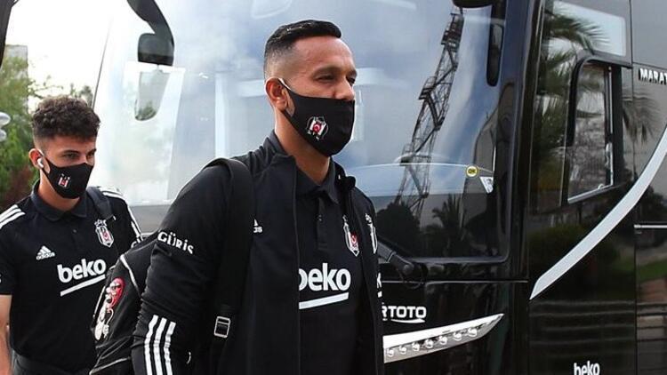 Son Dakika   Beşiktaş'ta cezalı Josef de Souza kadroya alındı