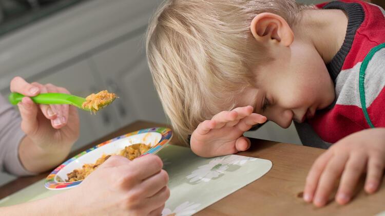 Çocuğunuz iştahsızsa ısrar etmeyin, sabırlı olun