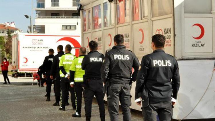 Edirne polisinden 'kan bağışı' duyarlılığı
