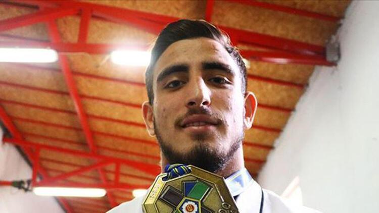 Milli judocu Muhammed Mustafa Koç, erkekler 81 kiloda bronz madalya kazandı