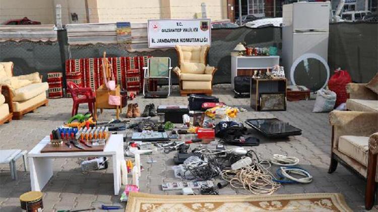 Gaziantep'te, hırsızlık şebekesi çökertildi