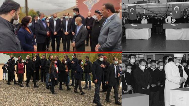 Son dakika... İşçilerin cenazesine katılmayan HDP'den uyuşturucu kuryesinin ailesine destek ziyareti!