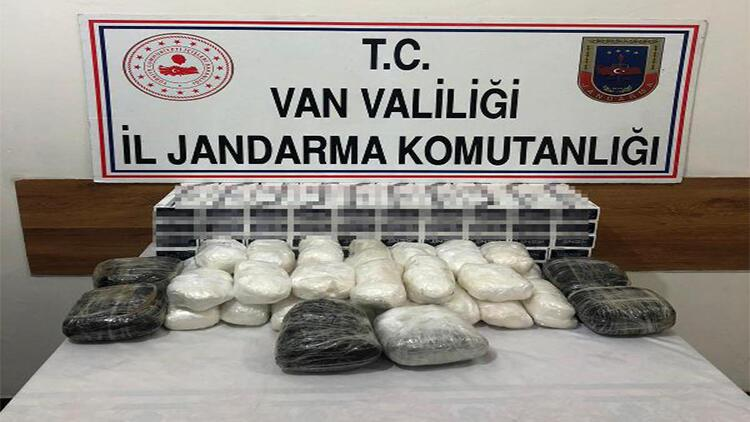 Van'da arazide uyuşturucu ve kaçak sigara ele geçirildi