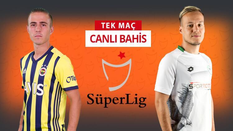 Konyaspor, İstanbul'a 6 eksikle geldi! Fenerbahçe'nin kazanmasına iddaa'da...