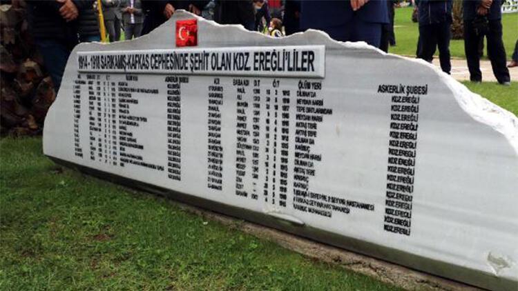 Sarıkamış Deniz Şehitleri Zonguldakta anıldı