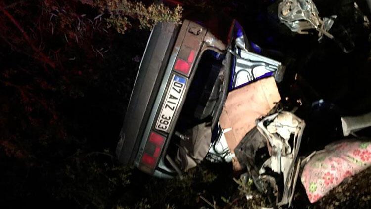 Burdur'da korkunç kaza! Ölüler ve yaralılar var