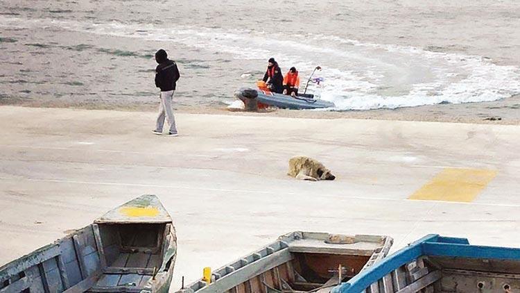 Saros Körfezi'nde balıkçı teknesi battı