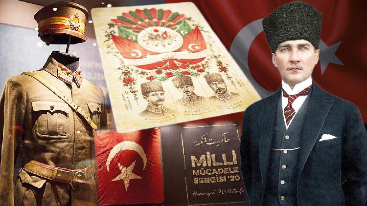 Milli Mücadele Sergisi'nde tarihe yolculuk