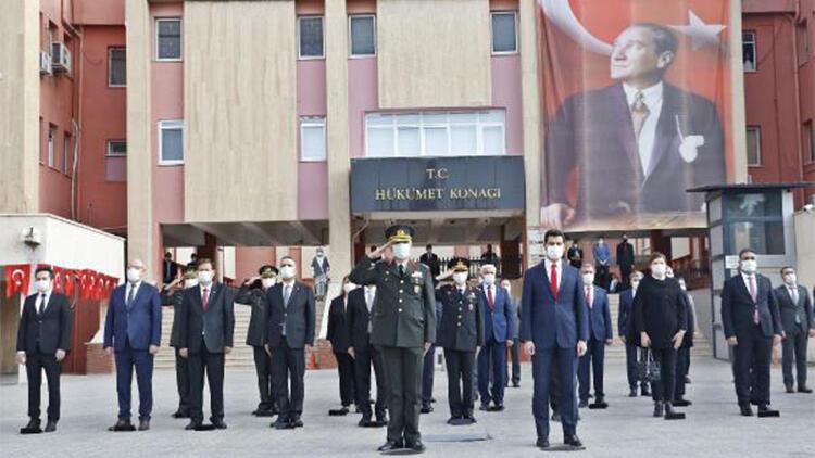 Mardin'de 10 Kasım töreni