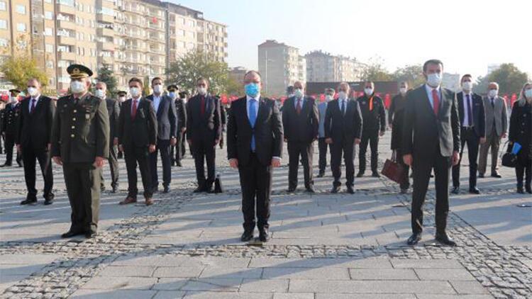 Elazığ'da 10 Kasım töreni