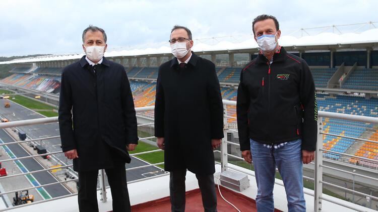 Son Dakika Haberi | Bakan Kasapoğlu ile Vali Yerlikaya, İstanbul Park'ta incelemelerde bulundu
