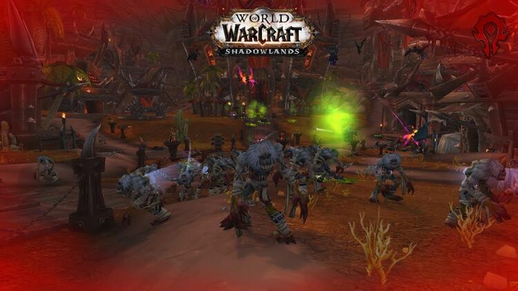 World of Warcraft Shadowlands: Scourge'ün Azeroth istilası başladı