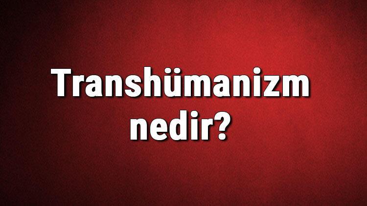 Transhümanizm nedir? Transhümanizm ne zaman ve nasıl ortaya çıkmıştır? Transhümanizm hakkında bilgi