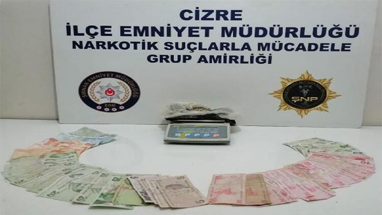 Şırnak'ta uyuşturucu satıcılarına operasyon: 4 gözaltı