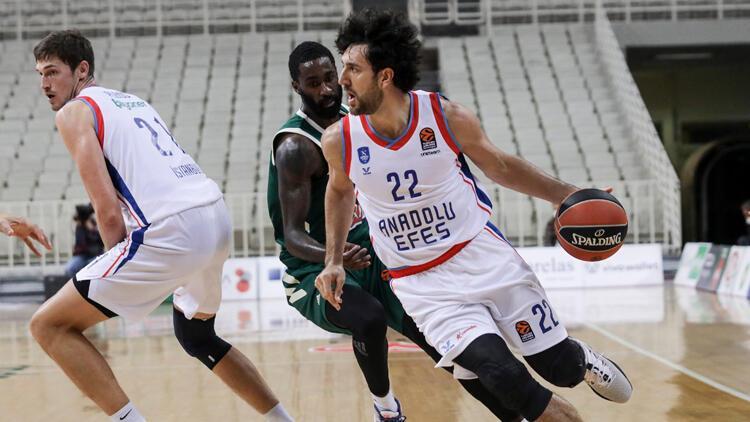 Panathinaikos 77-80 Anadolu Efes (Maç sonucu)