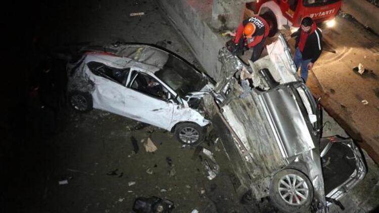 Kaza ihbarına giden itfaiyeci, kuzenini kurtardı