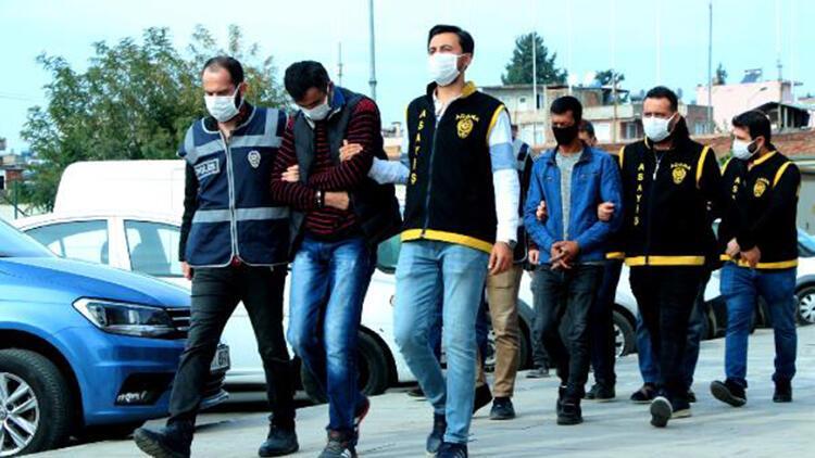 Adana'da haklarında kesinleşmiş hapis cezası bulunan 4 kişi yakalandı