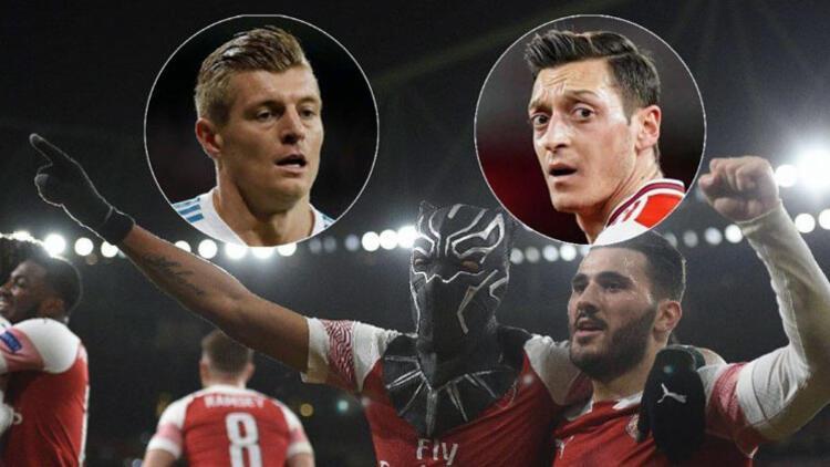 Toni Kroos, Aubameyang'a sataştı Mesut Özil tartışmaya katıldı