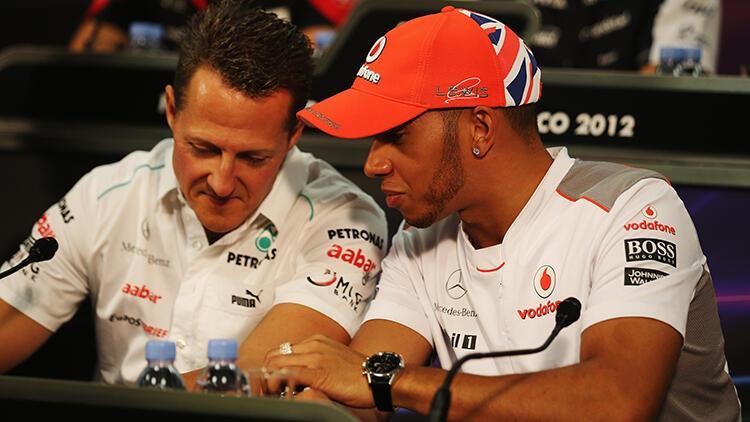 Lewis Hamilton, Michael Schumacher'i İstanbul'da yakaladı