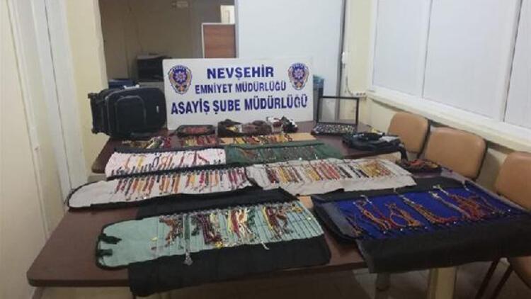 Nevşehir'de tespih koleksiyonu hırsızlığına 2 tutuklama