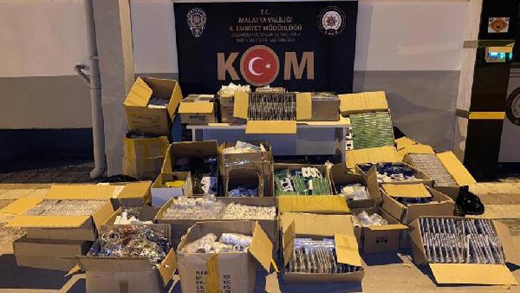 15 bin kaçak cep telefonu aksesuarı ele geçirildi