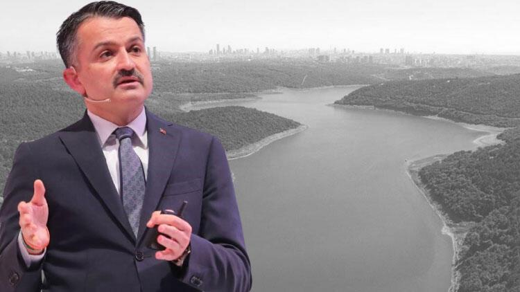 Son dakika... Bakan Pakdemirli: İstanbul ve Ankara'da su sıkıntısı yaşanmasını beklemiyoruz