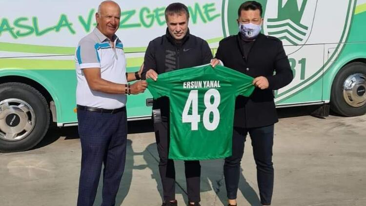Antalyaspor teknik direktörü Ersun Yanal'dan Bodrumspor'a ziyaret