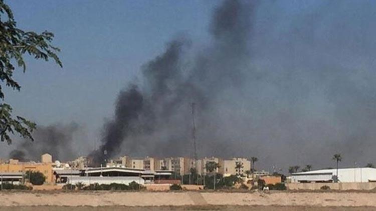 Bağdat'ta füze saldırısı! Ölü ve yaralılar var