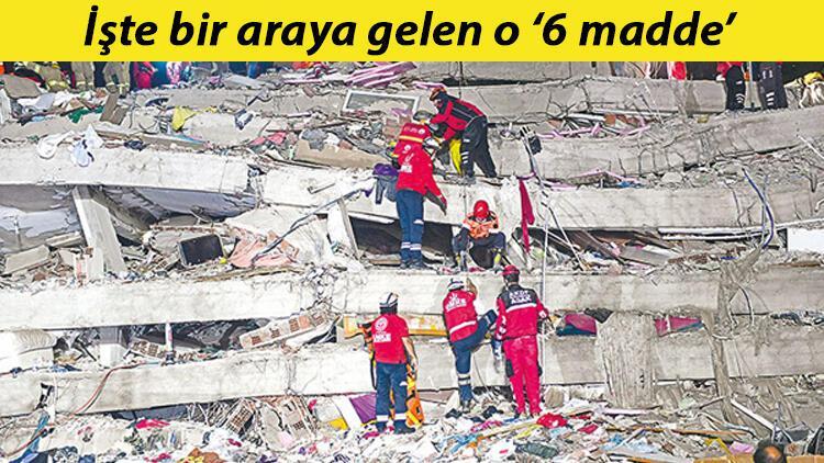 İzmir'i yıkan 'kötü altılı'