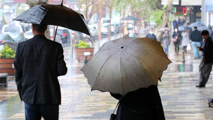 Son dakika... Meteoroloji'den Marmara Bölgesi ve birçok bölge için yağış uyarısı