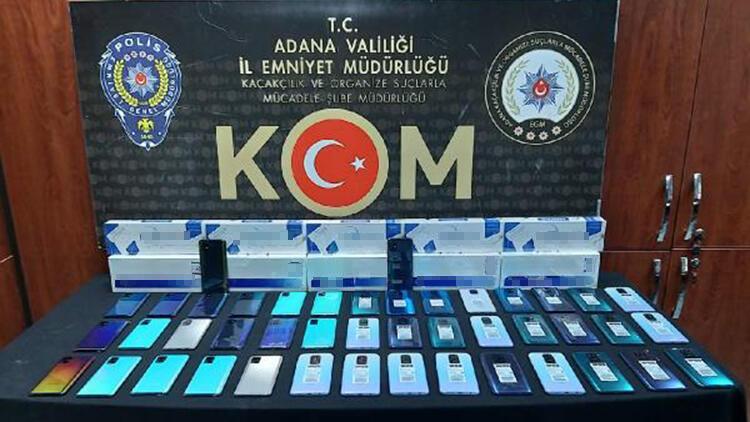 Adana'da kaçakçılık operasyonuna 1 tutuklama