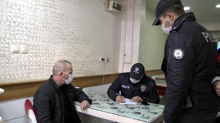 Avcılar'da koronavirüs önlemlerine uymayan iş yerlerine ceza