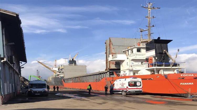 Gemi personeli kamarada ölü bulundu