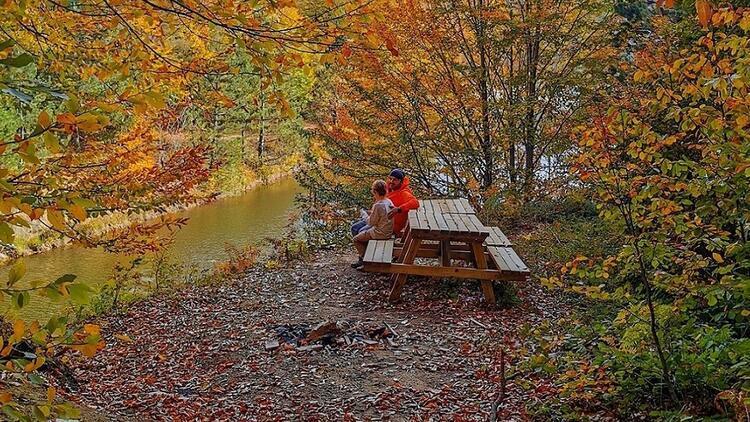 Kütahya'nın saklı güzellikleri sonbaharda bir başka güzel
