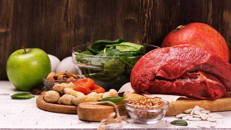 Demir eksiliğine karşı bu besinler tüketilmeli