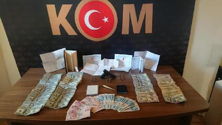 Malatya'da tefeci operasyonu: 5 gözaltı