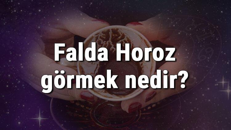 Falda Horoz görmek nedir? Kahve falında horoz görmenin anlamı