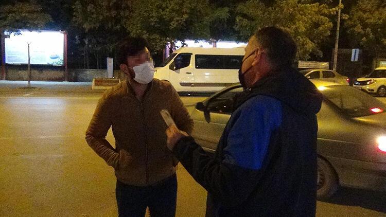 Sigara içerken İlçe Emniyet Müdürü'ne yakalandı, savunması şaşırttı
