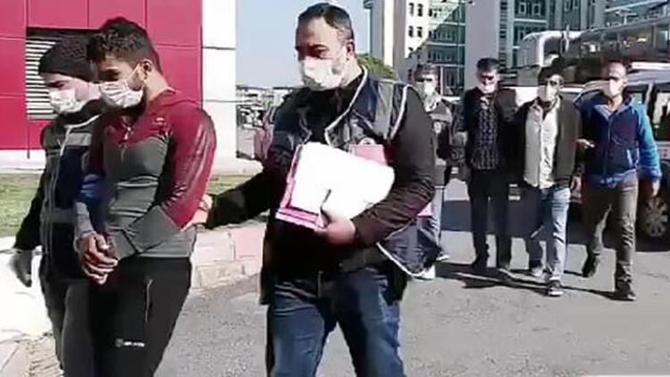 Gaziantep'te, kapkaç ve dolandırılıcılık şüphelisi 3 kişi tutuklandı