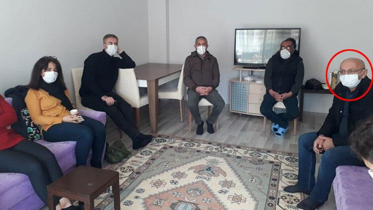 Son dakika... HDP'li Alican Önlü'den öldürülen PKK'lı teröristin ailesine taziye ziyareti