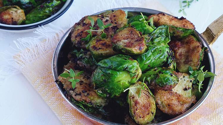 Çıtır çıtır Brüksel lahanası