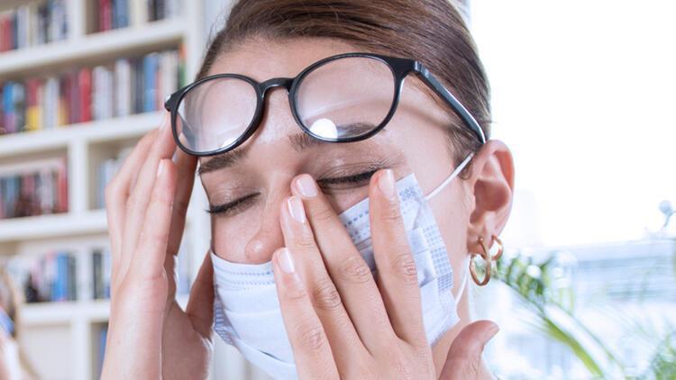 Gözdeki her kızarıklık koronavirüsün işareti değildir!