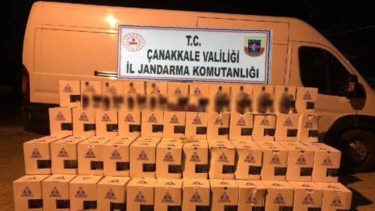 Çanakkale'de sahte içki operasyonu: 2 gözaltı